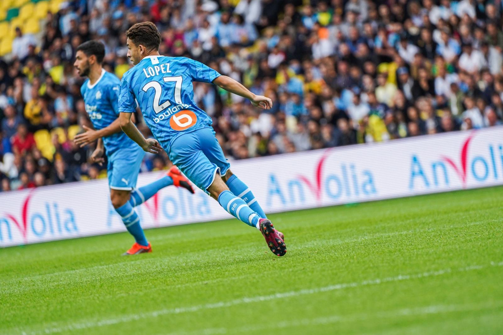 #Ligue1 - L'OM s'impose à Angers et met la pression sur le PSG