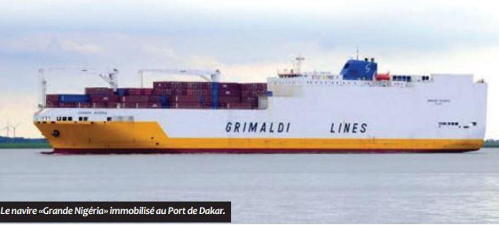 Saisie de drogue au port de Dakar: le capitaine du navire Grande Nigeria a quitté le pays libre