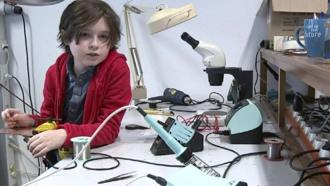 Laurent Simons : un garçon de 9 ans deviendra le plus jeune diplômé de l'Université
