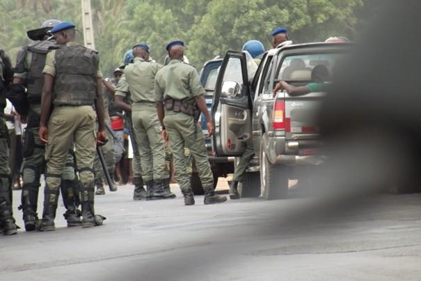Renforcement capacités lutte contre le terrorisme: décès d'un gendarme sénégalais pendant la formation à Thiès