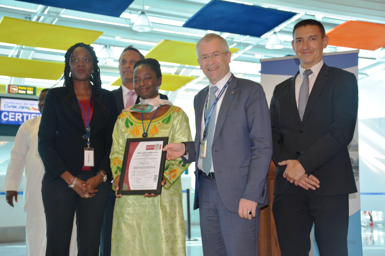 ISO 9001-2015 de LAS ou l'expression du rayonnement international de l'aéroport Dakar Blaise Diagne