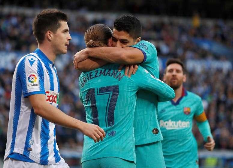 Accroché par le Real Sociedad, le Barça laisse la porte ouverte au Real Madrid avant le Clasico
