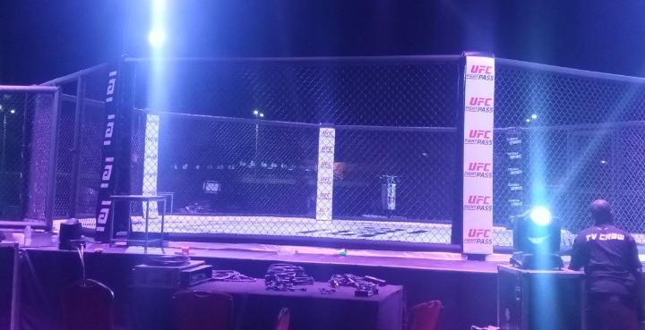Compétition internationale MMA : l'humidité gâche la fête