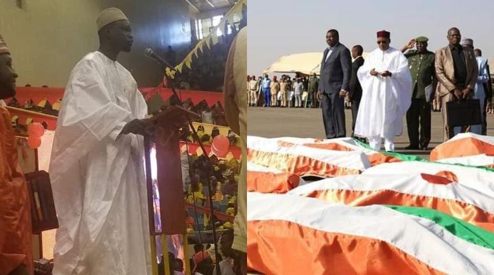 A Niamey, Ousmane Sonko zappe les 71 soldats tués à Inates de son discours
