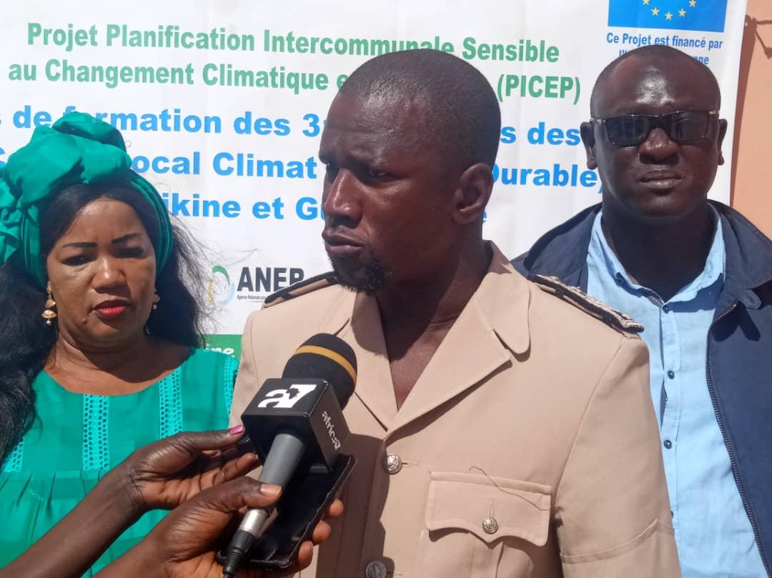 Lutte contre le réchauffement climatique: l'adjoint au Sous-préfet de Pikine prône le changement de comportement