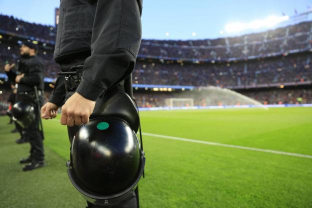 Un dispositif de sécurité exceptionnel déployé autour du Clasico Barça-Real Madrid