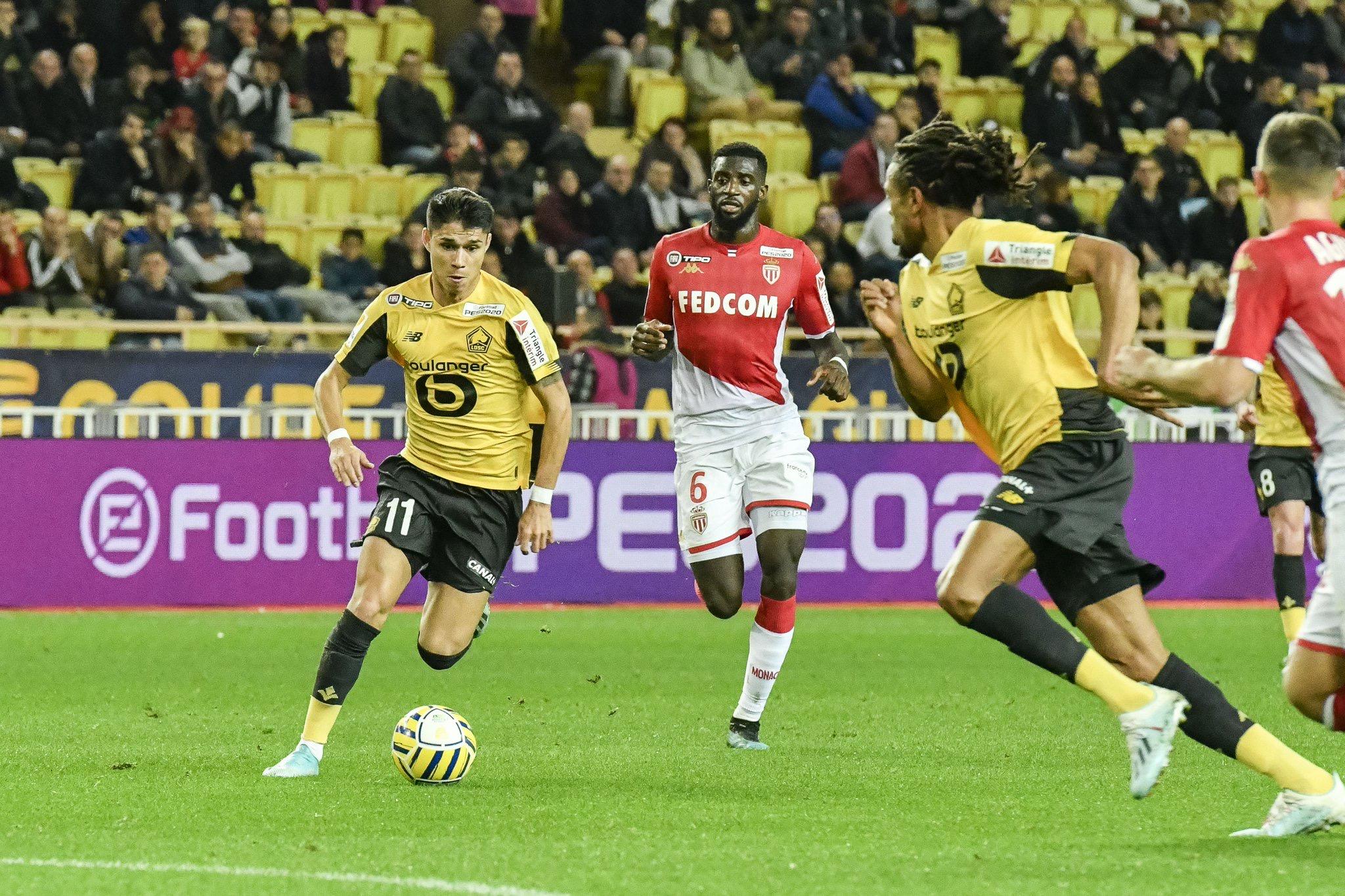 Huitième de finale Coupe de Ligue: Lille corrige Monaco (3-0)