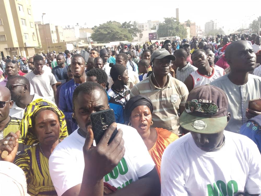 Le Collectif ÑOO LANK, défait Macky Sall, les partis politiques et les syndicats