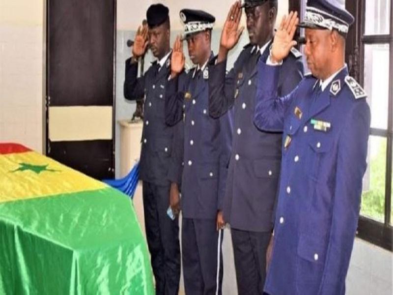 De nouvelles révélations à l'inhumation du policier Blaise Daby Gabriel Basse