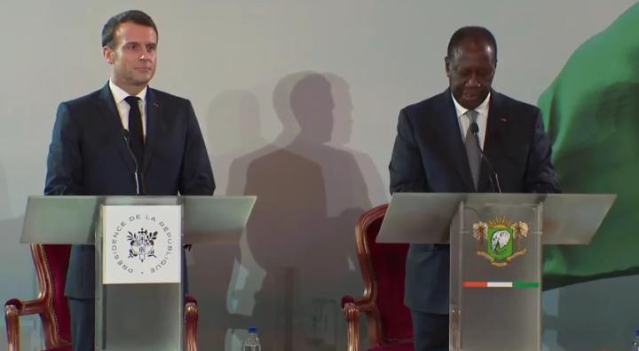 OFFICIEL: aux côtés de Macron, Ouattara annonce le remplacement du franc CFA