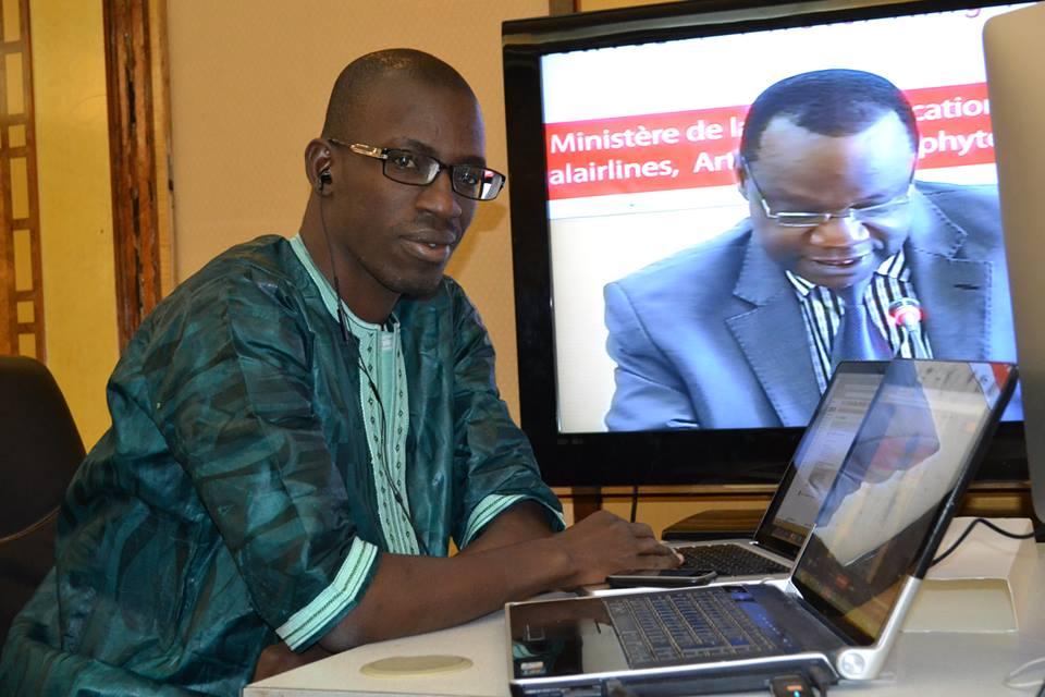 Mountaga Cissé, journaliste spécialisé dans les TIC