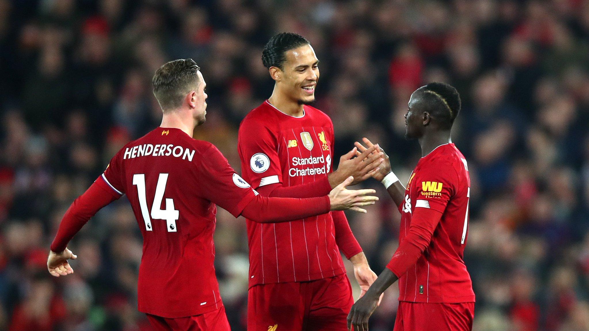 #PremierLeague - Liverpool remporte sa 18e victoire sur 19 matchs