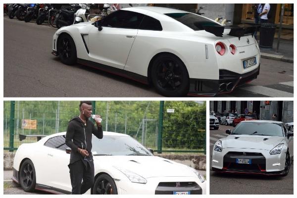 Mario Balotelli se trompe de maison et explose sa voiture contre un portail...