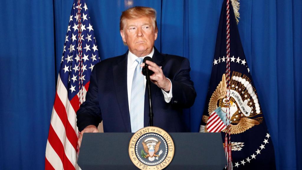 Assassinat de Soleimani: Trump se défend d'être un va-t-en-guerre