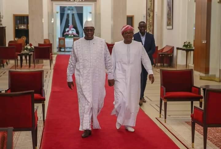 Après son élection, Umaro a réservé sa première visite au Président Macky Sall
