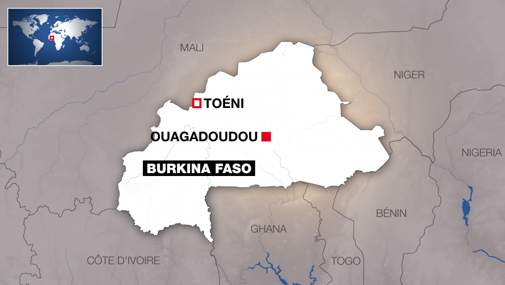 Burkina Faso: au moins quatorze civils tués, dont des élèves, par un engin explosif improvisé