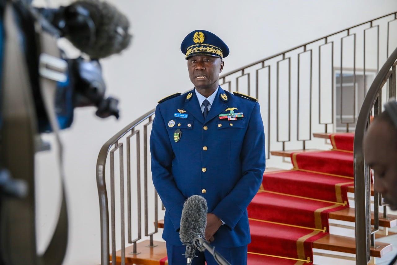 Le nouveau Cemga Birame Diop fait de la lutte contre le terrorisme un défi