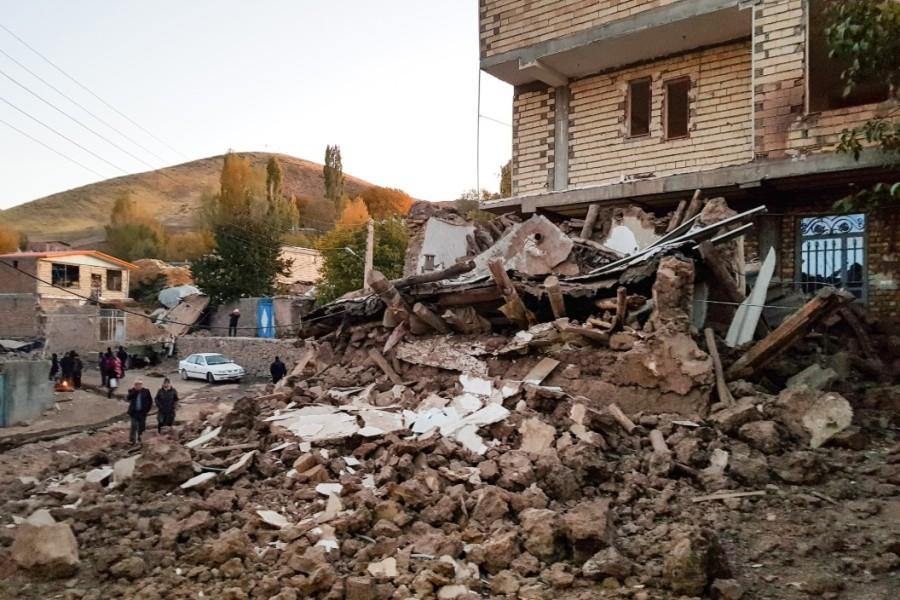 Iran: 7 personnes ont été blessées lors du séisme survenu ce mercredi matin dans la région de la centrale nucléaire de Bouchehr