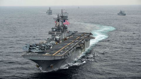 Tensions USA - RUSSIE La Russie dément  l'US NAVY