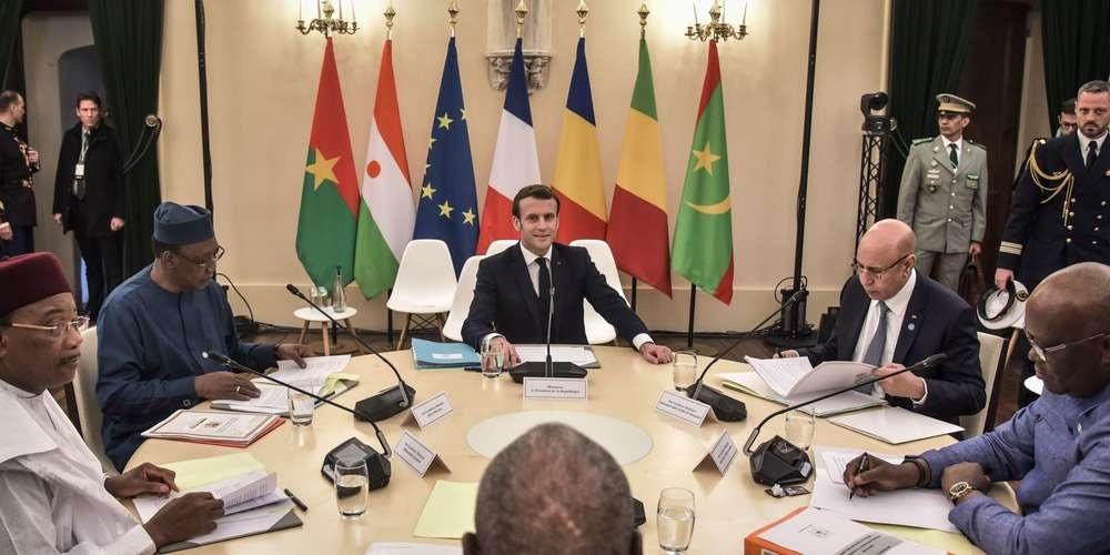Voici les décisions prises au sommet de Pau, entre Macron et les chefs d'État du G5 Sahel