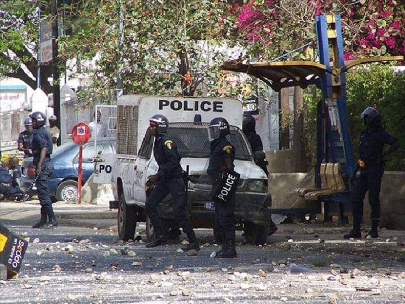 Violents affrontements à l'Université de Bambey: deux policiers blessés et évacués à l'hôpital
