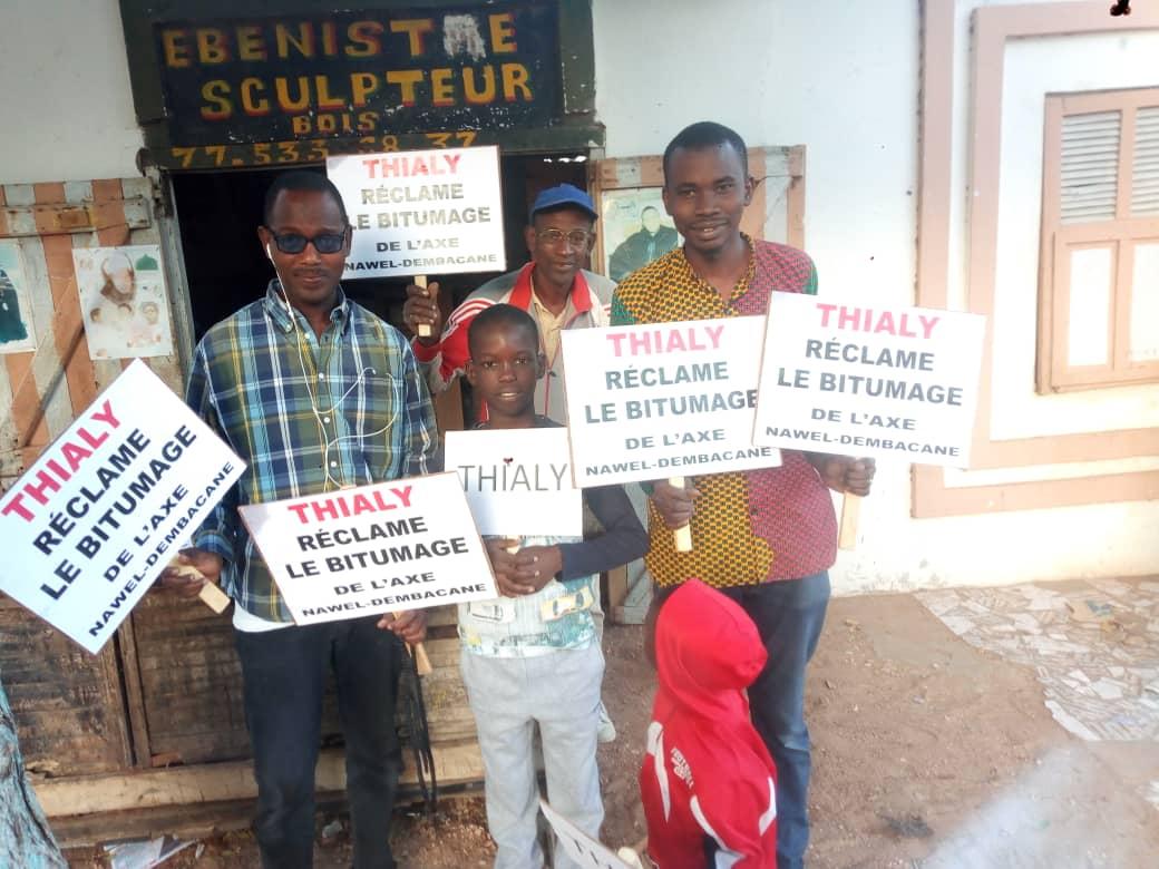 Dakar : des ressortissants de la région de Matam marchent vendredi pour réclamer le bitumage de l'axe Nawel-Dembakané