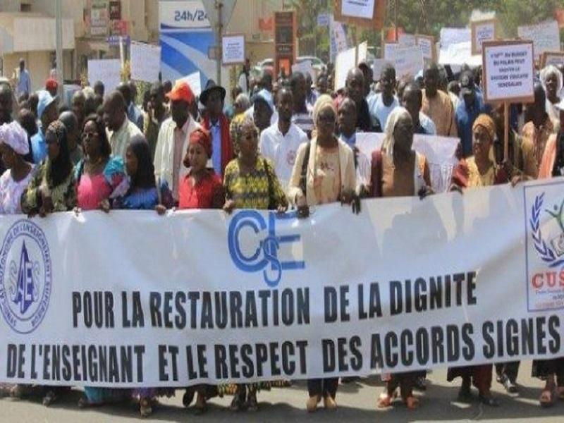 Paralysie du système scolaire : le G7 en débrayage ce mercredi... Grève totale suivie d'une marche jeudi