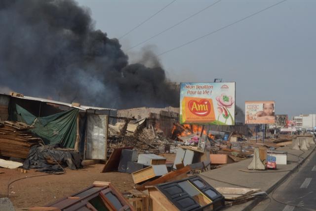 Pack-Lambaye Pikine : un incendie fait d'énormes dégâts