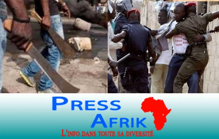 Agressions parfois mortelles et les crimes odieux, l'insécurité grandit à un rythme préoccupant au Sénégal