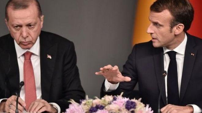 "Macron accuse Erdogan ""d'ingérence"" en Libye"