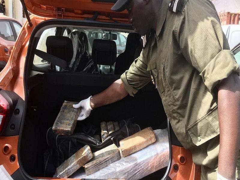 120 kilos de drogue saisie au Port: les armateurs du Grand Nigéria ont découvert la marchandise