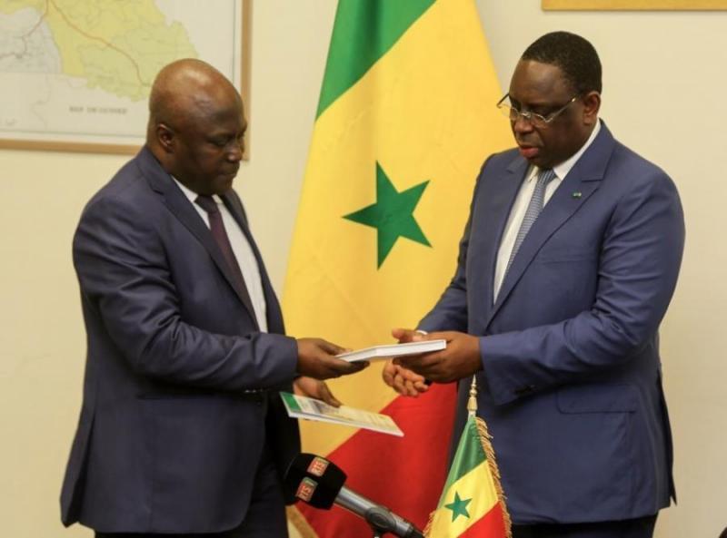 Le président de la Cour des comptes va remettre des rapports au chef de l'Etat