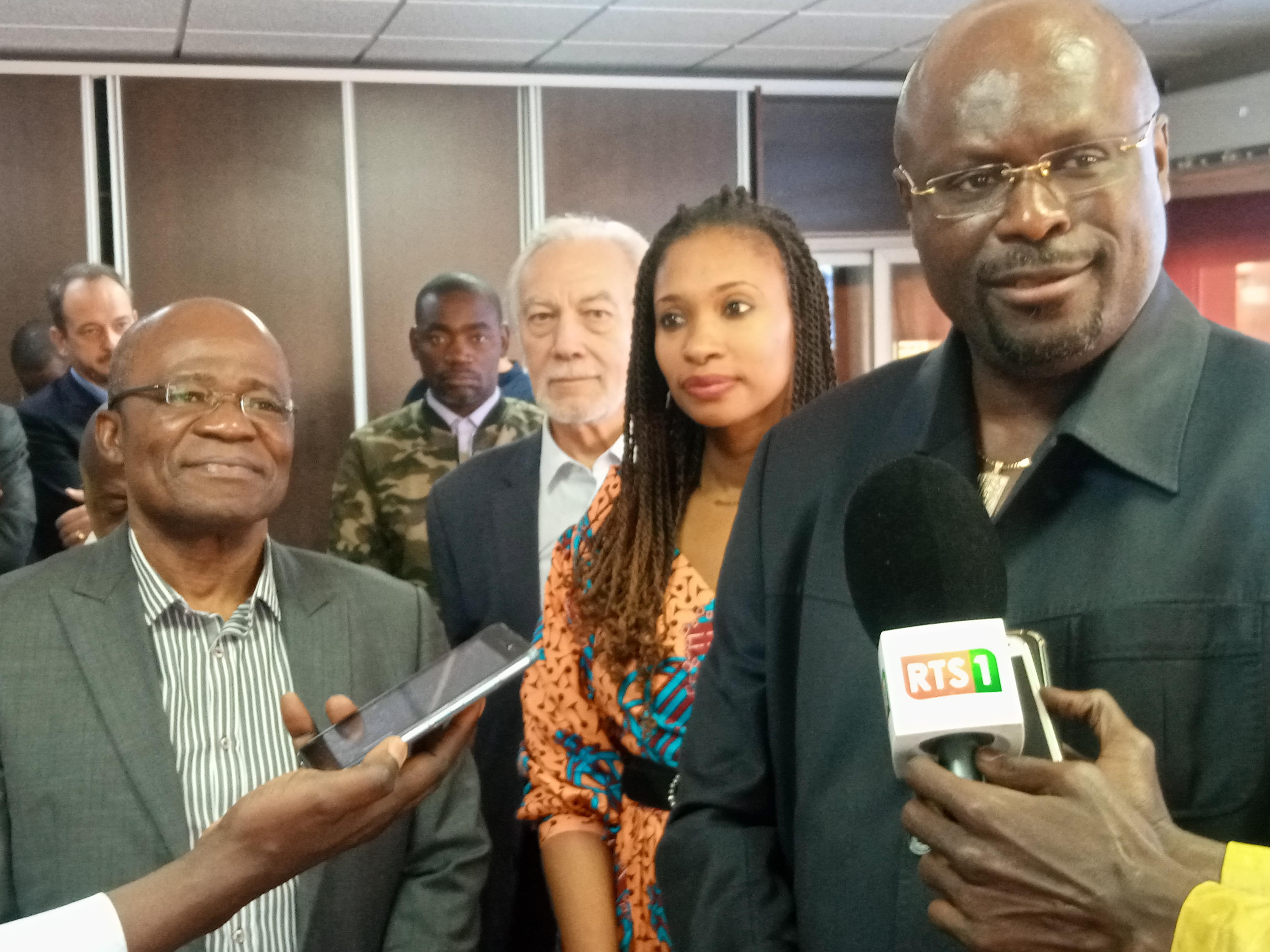Sénégal : le président de l'Assemblée nationale Gabon en visite à Eiffage Concessions se dit séduit par la qualité de l'Autoroutes de l'avenir