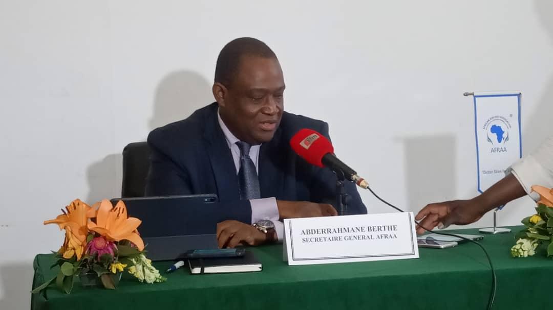 « L'Afrique représente moins 3% du trafic aérien global », selon le Secrétaire Générale de l'AFRAA