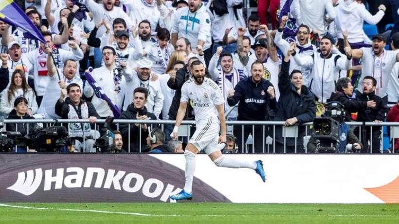 Grace à Benzema, le Real emporte le Derby madrilène (1-0)