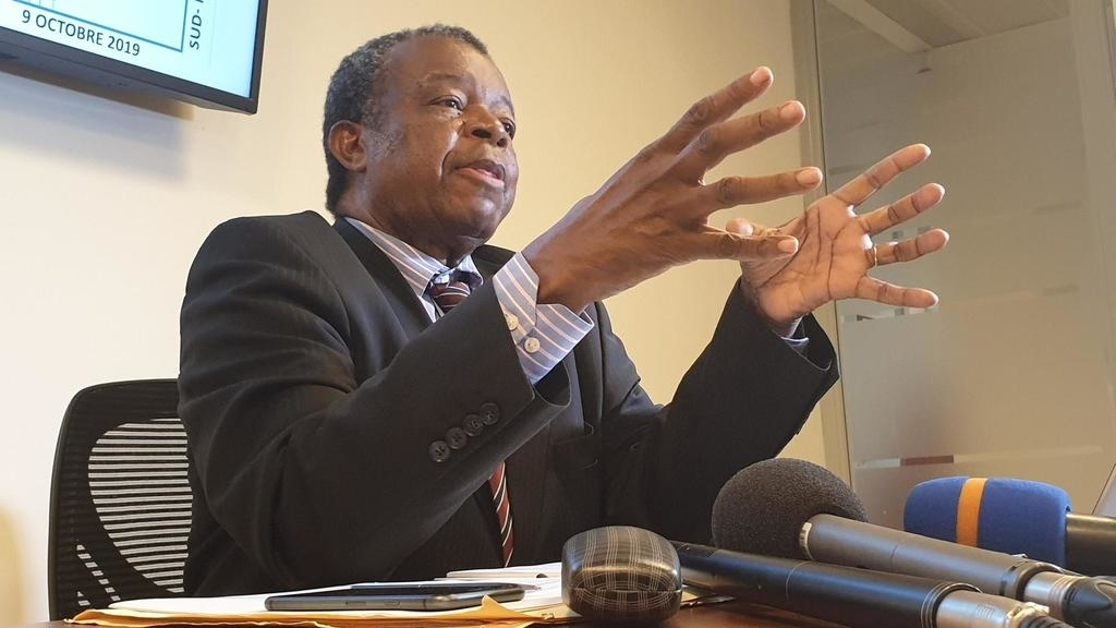 Le professeur Jean-Jacques Muyembe, de l'Institut national de la recherche biomédicale, a expliqué qu'un expert de l'INRB se rendra à Dakar, qui se prépare aussi à faire face à d'éventuels cas. RFI/Pascal Mulegwa