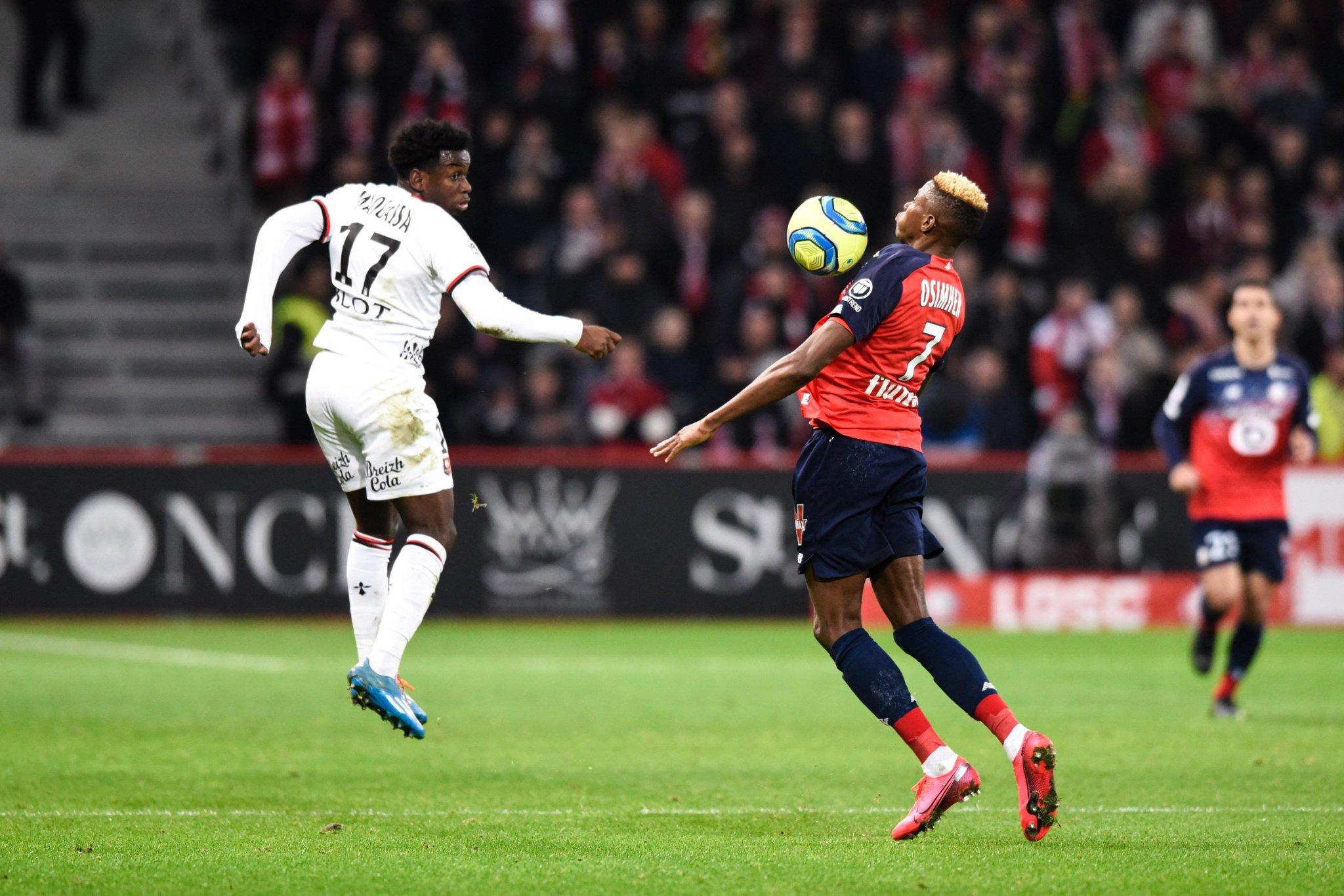 #Ligue1 - Lille enchaîne contre Rennes