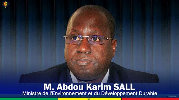 Interdiction plastique au Sénégal: le ministre Abdou Karim Sall compte appliquer la loi dans toute sa rigueur