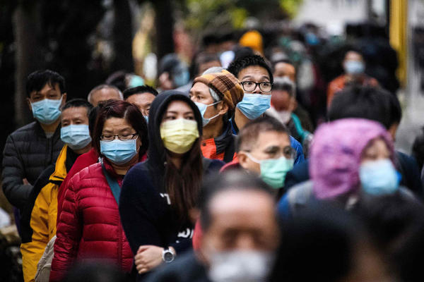 Il y a des patients infectés dans plus de 20 pays. / Crédits : Anthony WALLACE - AFP