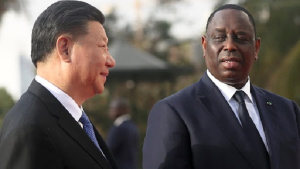 """#Coronavirus: Le président chinois salue le """"soutien et la solidarité"""" de son homologue Macky Sall"""