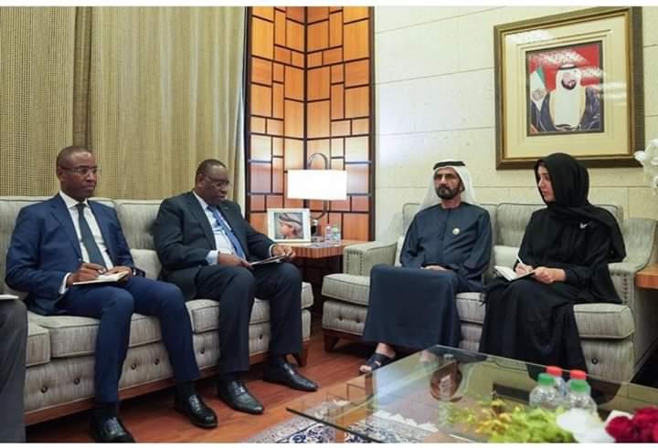 Abu Dhabi: Macky Sall attire les hommes d'affaires vers les opportunités d'investissement au Sénégal