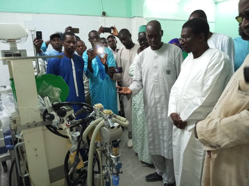 """Saint-Louis : Mary Teuw Niane fait un don de matériels d'une valeur de """"100 millions FCFA"""" à l'hôpital régional"""