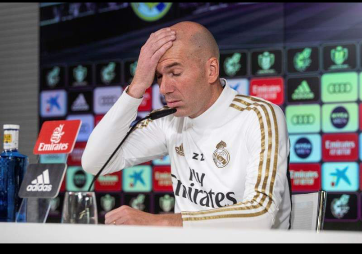 Zidane a eu un accident de voiture en se rendant à l'entraînement