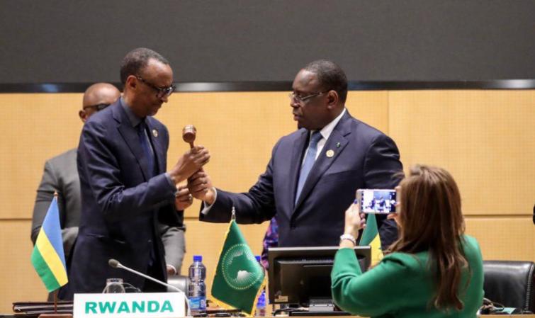Paul Kagamé remplace Macky à la tête du NEPAD