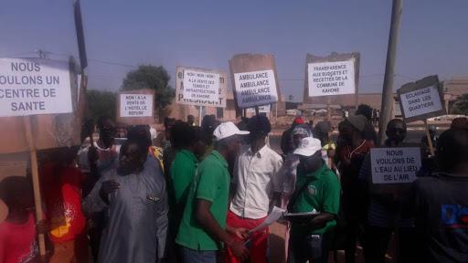 Marche à Kahone: les populations montent au créneau pour dénoncer les nombreux cas d'agression