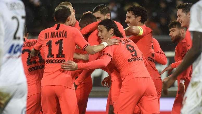 Amiens et le PSG se quittent sur un nul au bout d'un match fou