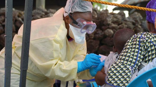 Le vaccin Ervebo homologué en RDC, au Burundi, au Ghana et en Zambie
