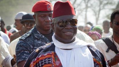 Yaya Jammeh a joué un rôle essentiel dans la libération de militaires sénégalais