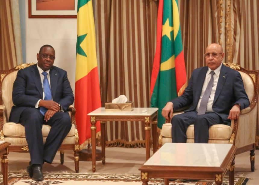 Visite du Président Macky Sall en Mauritanie: 6 accords signés... la Pêche, la Sécurité, l'Energie, l'Hydraulique et l'Elevage discutés