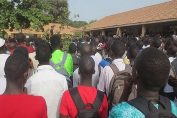 Ziguinchor : les étudiants décrètent une grève illimitée à compter de ce mercredi